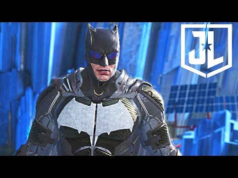 Injustice 2 - Justice League BATMAN Epic Gear Set Showcase + All Shaders