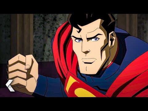 Batman & Superman Fight in Arkham Asylum Scene - INJUSTICE (2021)