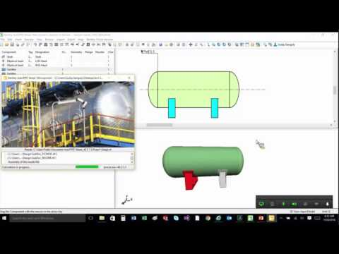 Interpreting Saddle Reactions And Forces For Horizontal Vessels