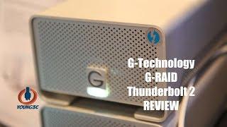 #Young3C#G-Technology雷电口G-RAID硬盘盒实测-有颜值有性能有分量
