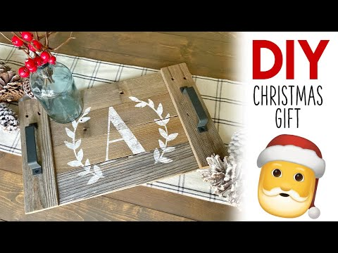 DIY Christmas Gift - Super easy and inexpensive!