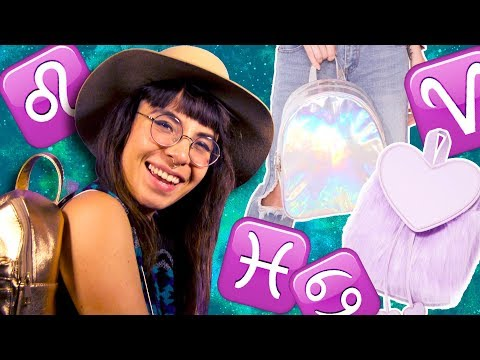 Which Backpack Goes with Your Astrological Sign? - Horoscope Style Guide // Cosmic Closet | HISSYFIT