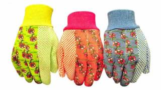 Garden Gloves Women 2 pairs per package. Premium grade breathable special p