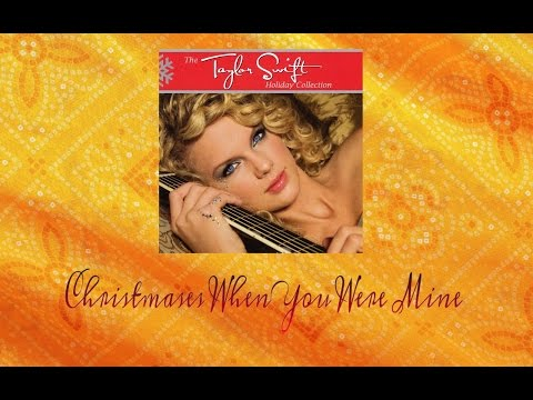 Taylor Swift - Christmases When You Were Mine (Audio Official)