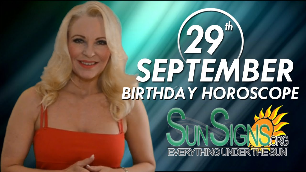 September 29 Zodiac Horoscope Birthday Personality ...