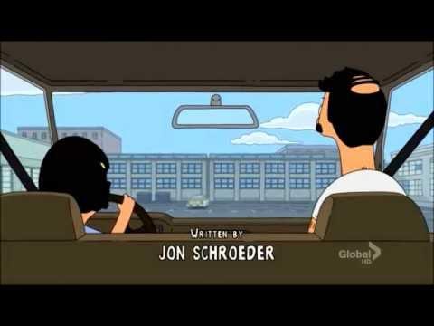 Bob's Burgers - Tina Driving A Car
