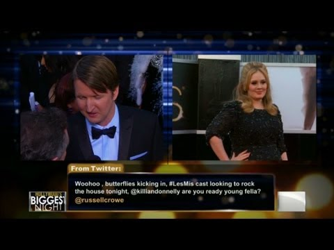 """Les Miserables"" Director Tom Hooper: 'Les Mis Cast Singing Live'"