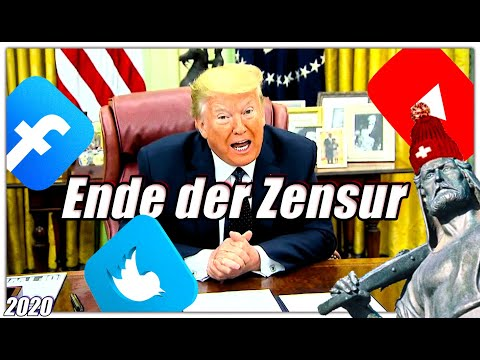 Ende der Zensur   Präsident Trump gegen die sozialen Netzwerke