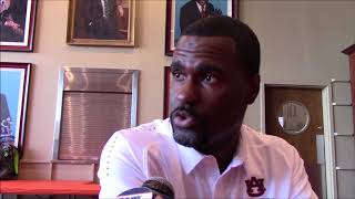 Auburn DB Coach Marcus Woodson On Practices, Working With Greg Brown