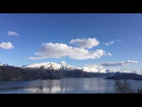 Timelapse Hardangerfjorden