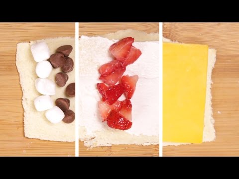 3 Easy Roll-Ups For Breakfast, Lunch, And Dessert