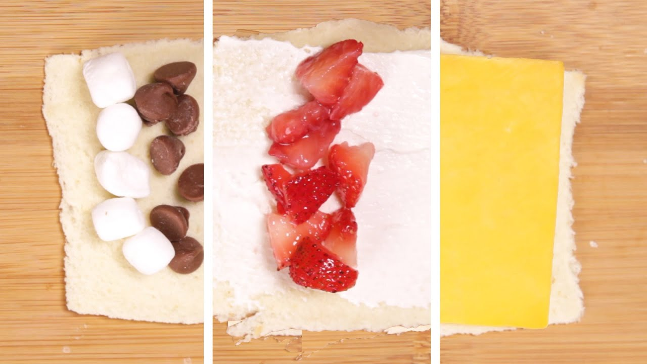 3 easy roll ups for breakfast lunch and dessert youtube forumfinder Image collections