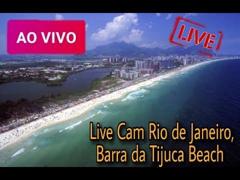 Câmera Ao VivoPraia Barra da Tijuca, Rio de Janeiro - RJ