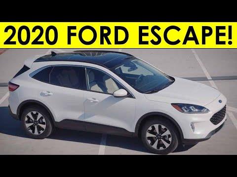 2020 Ford Escape Exterior Interior Video Information Youtube