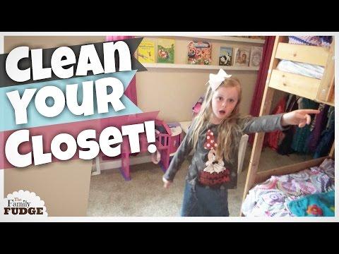 JUGGLING Home School & Housework || KIDS Closet SPEED Clean