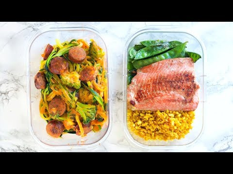 HEALTHY MEAL PREP! MEAL PREP FOR WEIGHT LOSS! EASY RECIPES!