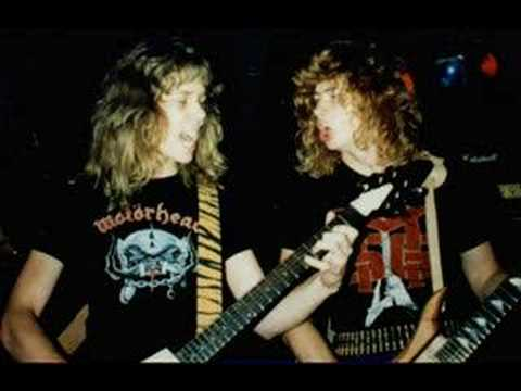 Metallica Hit The Lights wDave Mustaine