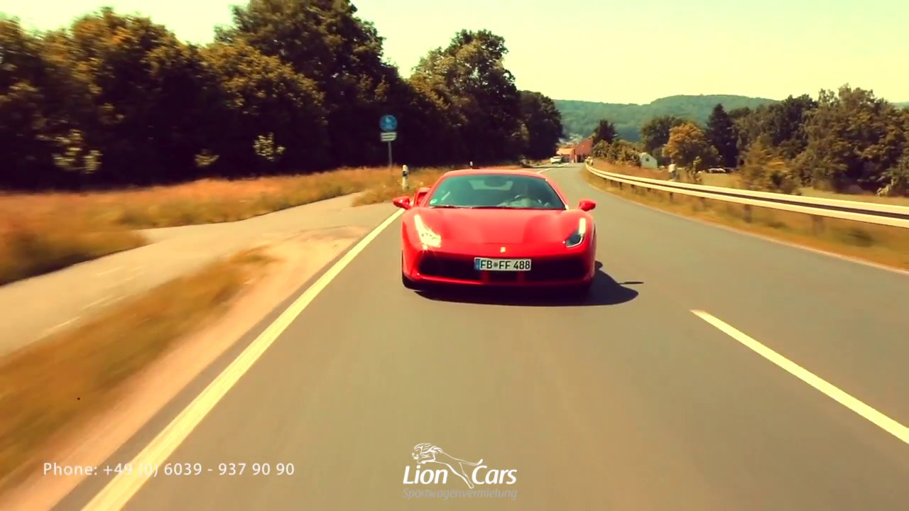 Lion Cars Guided Sports Car Tours Youtube