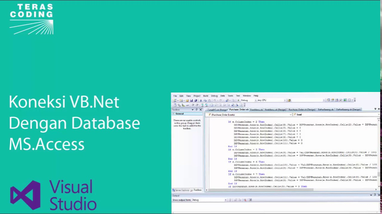 ms access purchase order database