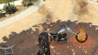 Hướng dẫn cài đặt mod Ghost Rider trong GTA 5 - Phần 2