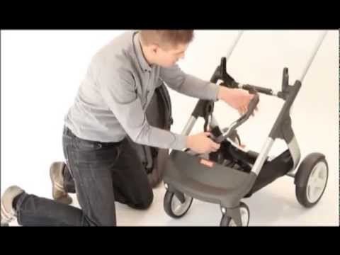 Verwonderend How to attach the sibling adaptors to the Stokke® Crusi™ stroller IN-86