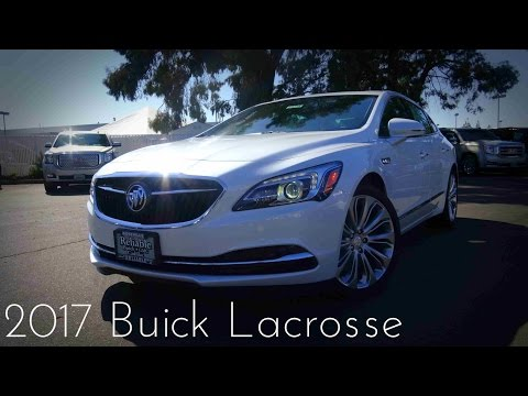 2017 Buick Lacrosse Premium 3.6 L V6 Road Test & Review