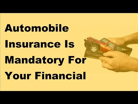 Automobile Insurance Is Mandatory For Your Financial Freedom!  -  2017 Auto Insurance Facts