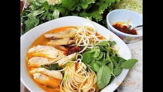 BÚN GÀ SA TẾ - Hướng dẫn cách nấu món Bún Gà Sa Tế - món ngon mới lạ và hấp dẫn by Vanh Khuyen