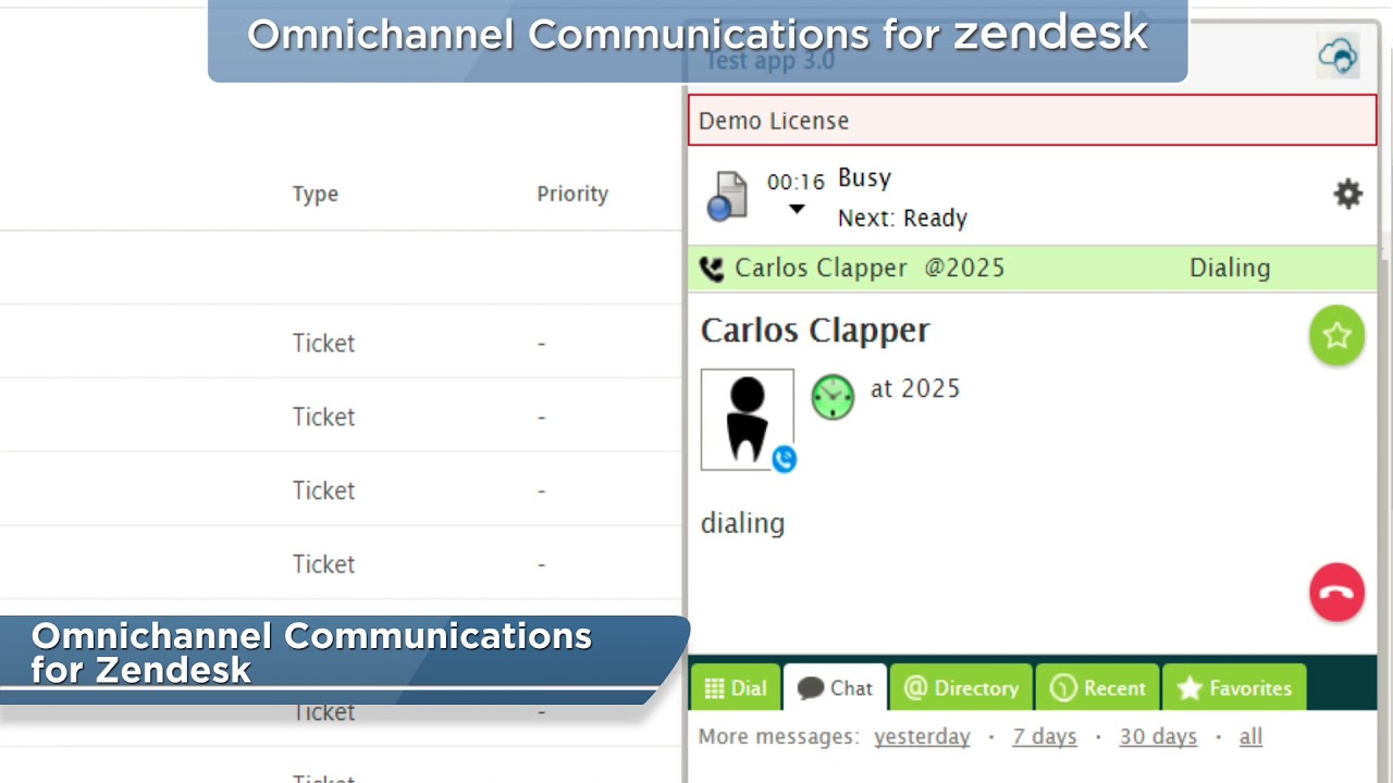 Bright Pattern Omnichannel Communication for Zendesk - Call Center Software