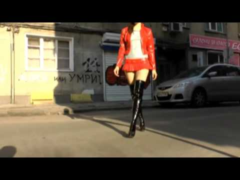 girl in red short pvc Skirt, Jacket and black/red Boots from YouTube · Duration:  4 minutes 54 seconds