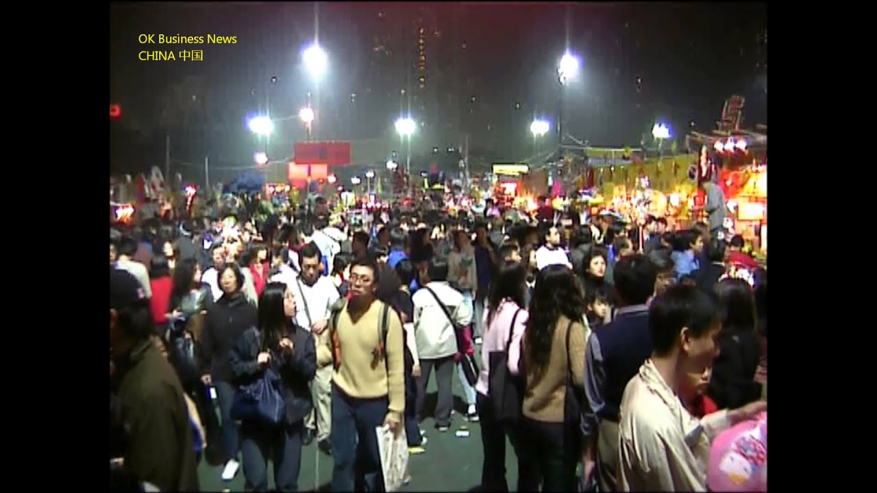 Hongkong (Hong Kong): Chin. Neujahrsfest Nachtmarkt Chinese New Year ...