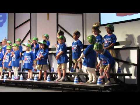 Mount Hope Christian School Blue Room Spring Program 2019- Matteo