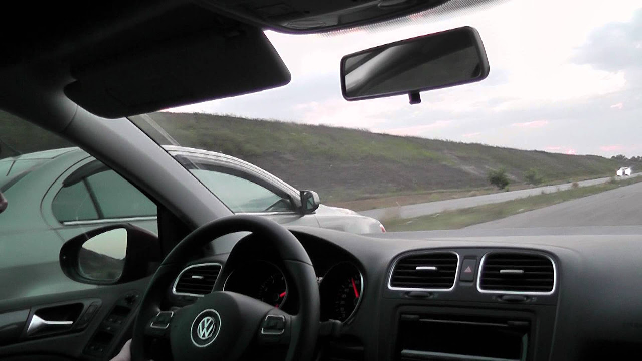 Vw Golf 1.4 TSI 122 HP DSG //POV Test Driving
