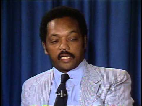 Jesse Jackson Presidential Campaign 1984 – Foreign Press Center Briefing (Part 2)