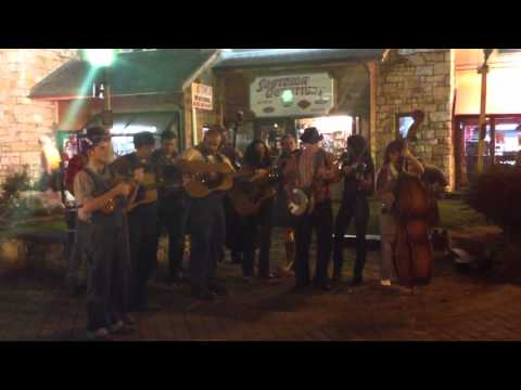 Bluegrass on the street Downtown Gatlinburg TN