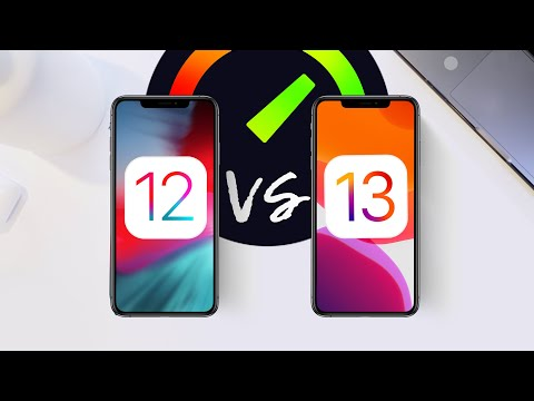 iOS 13 vs iOS 12 Speed Test - Actually Twice as Fast?