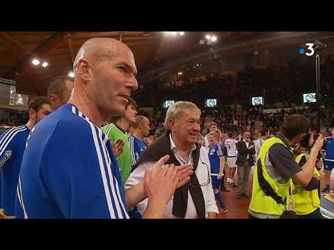"""Zinédine Zidane à Limoges pour le """"match des légendes"""""""