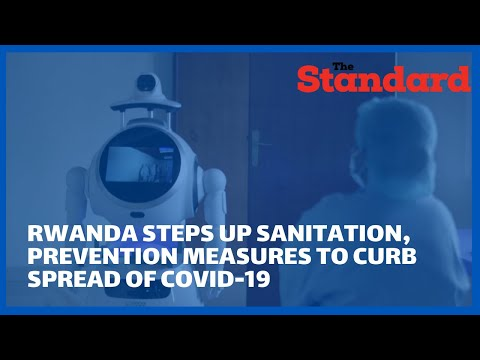 Robots deployed in Rwanda in a bid to minimize contact between Covid-19 patients and doctors
