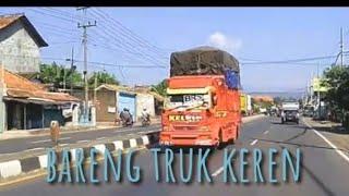 Gambar cover NGERI😱,,,truk oleng parah sampai gasruk