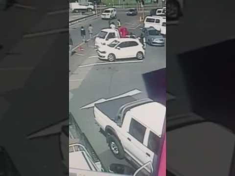 Armed robbery caught on CCTV Durban SA