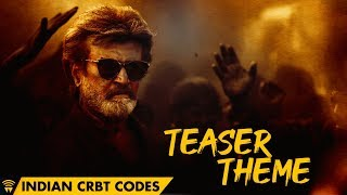 Kaala - Teaser Theme Indian CRBT Codes | Rajinikanth | Pa Ranjith | Santhosh Narayanan