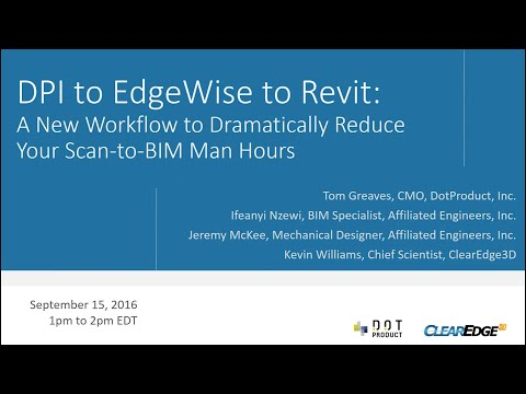 Workflow Webinar: DotProduct-EdgeWise-Revit with Affiliated Engineers