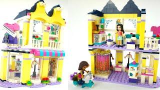 Конструктор Лего для девочек. Собираем домик и играем