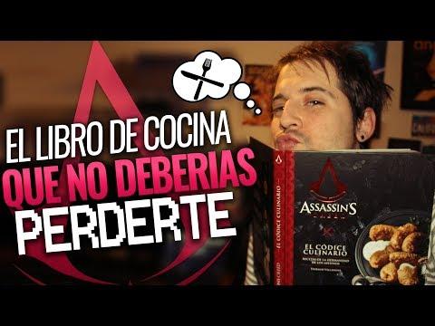 assassin's-creed-el-códice-culinario-|-el-libro-de-cocina-que-no-deberÍas-perderte-|-unboxing