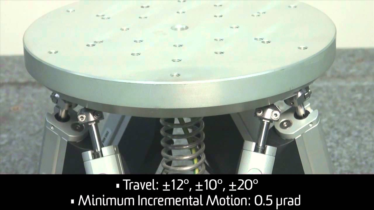 High Precision Hexapods
