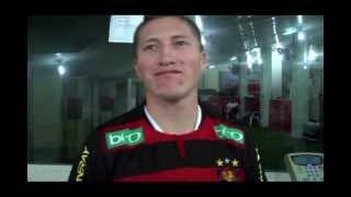 Entrevista com o jogador do Sport Alejandro Chumacero