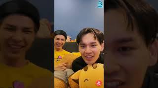 Hoàng Thượng Nguyễn Trần Trung Quân và Bạch Liên livestream trên app Vlive ❤️