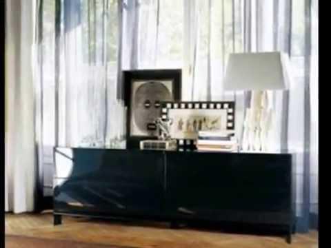 Aparadores modernos youtube - Chimenea electrica mueble ...