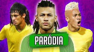♫ NEYMAR JR E SEUS CABELOS  | Paródia MC Loma - Treme Treme   ‹ RALPH +10 ›