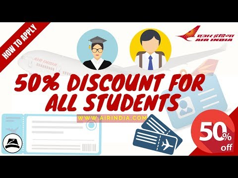 How to apply for a students concession on air tickets